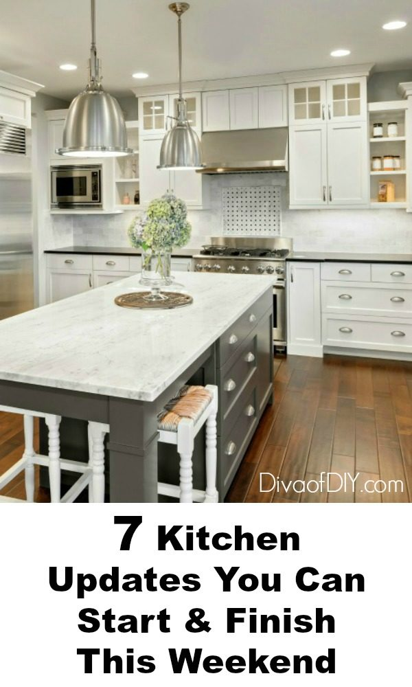 Easy Kitchen Updates You Can Do This Weekend Diva Of DIY - Update kitchen lighting