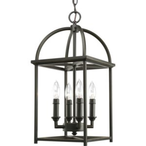 I love the look of these lantern-style pendants