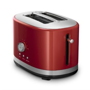 I love the pop of color in this retro-inspired toaster