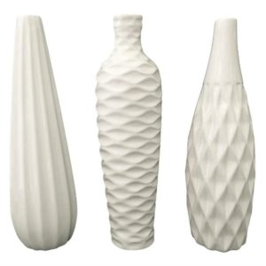 These 3 large vases would look amazing grouped on your farmhouse table
