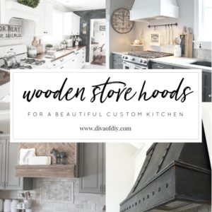 Wooden Stove Hoods for a Beautiful Custom Kitchen