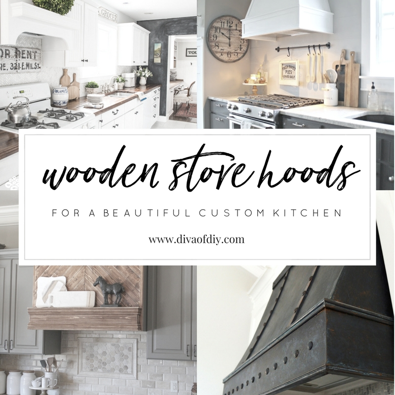 Wooden Stove Hoods for a Beautiful Custom Kitchen Look
