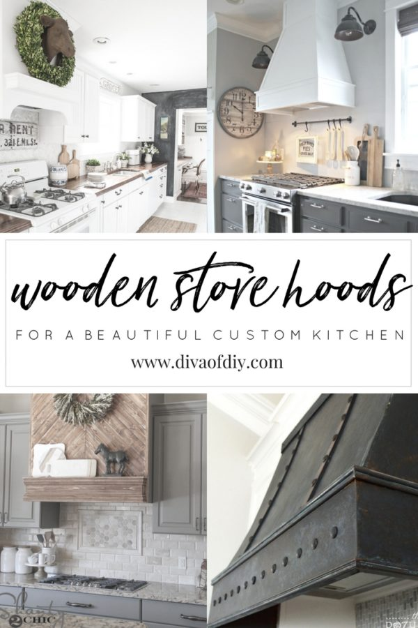 Whether It S Painted Rustic Or Even Faux Metal A Wooden Stove Hood Can Be The Statement Piece In Your Kitchen Remodel Here Is Some Inspiration