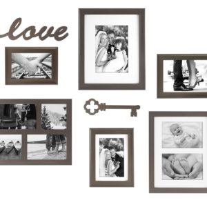 This 8 piece gallery wall set is perfect to create a gallery wall.