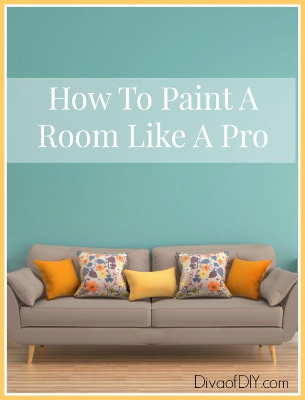 paint a room like a pro