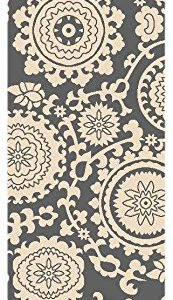 Staircase ideas: This floral medallion stair runner is truly art for your stairs