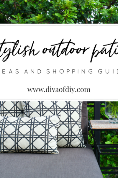 How to Create a Stylish Outdoor Patio