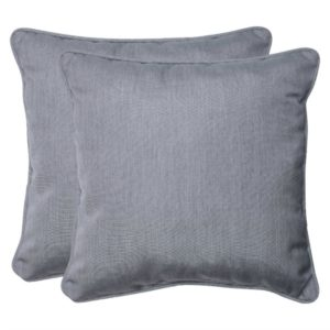 These pillows go great with our stylish outdoor patio