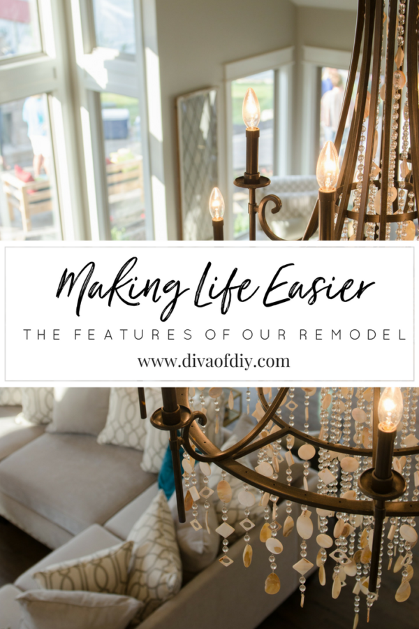 making life easier: features of our remodel