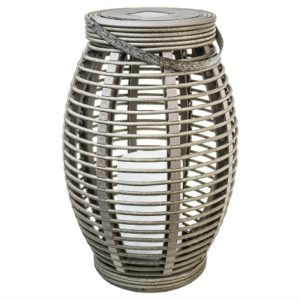 These outdoor lanterns are perfect for our stylish outdoor patio set