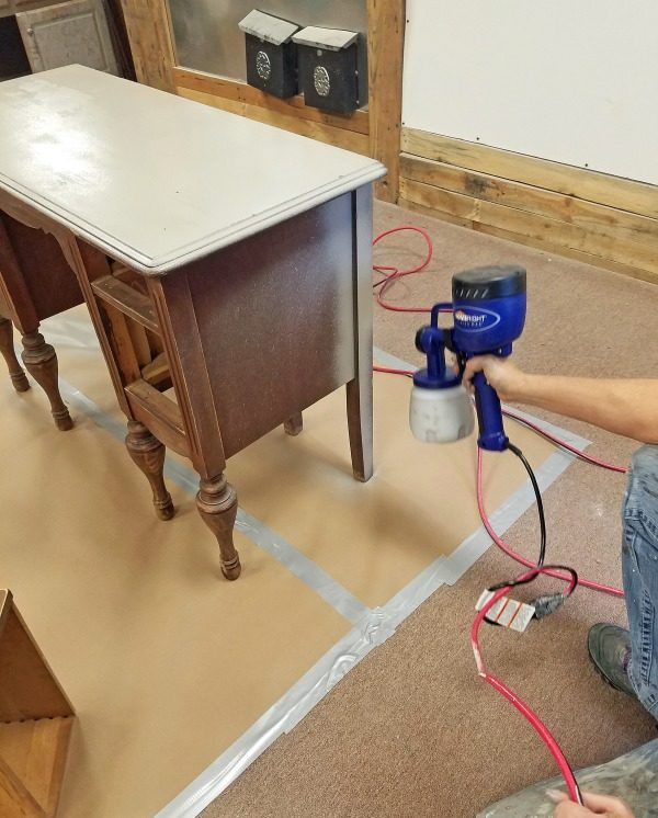 quick and easy vintage furniture makeover