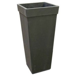 This tall planter is the perfect backdrop for your stylish outdoor planter