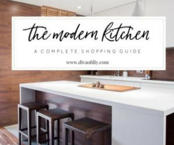 A Modern Kitchen Shopping Guide