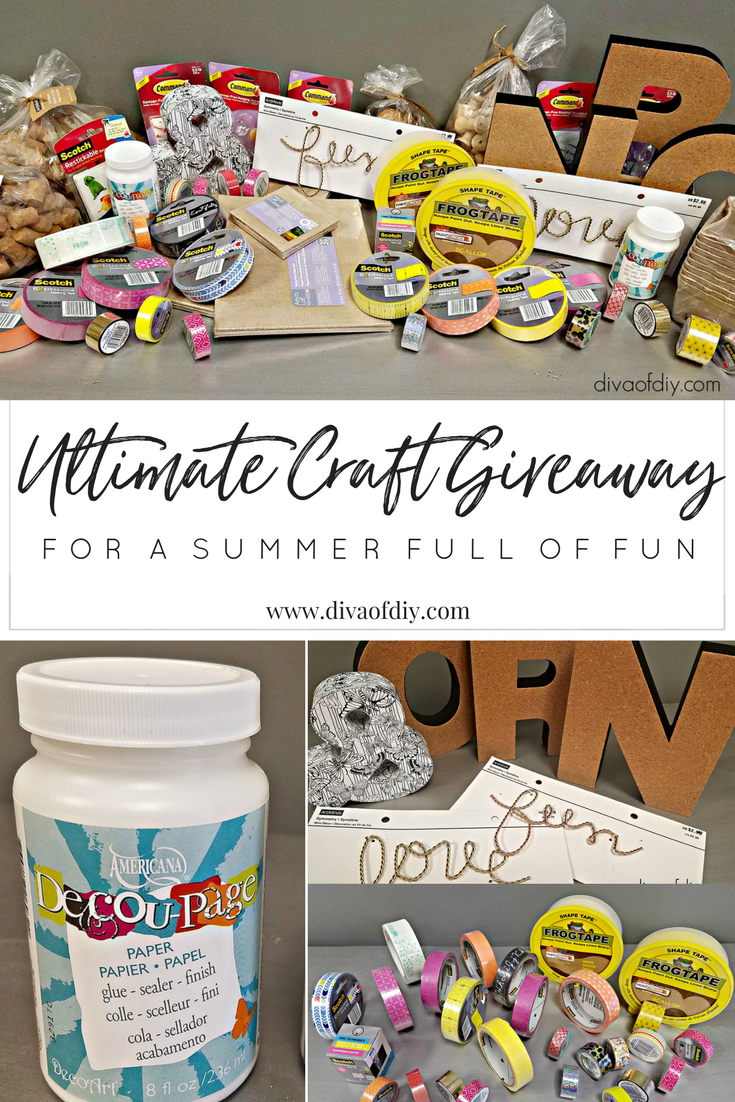 Diva of DIY Craft giveaway