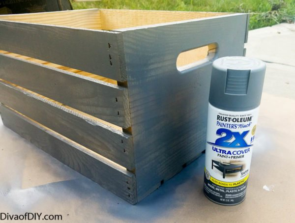 Crate Projects- How To Make A Storage Ottoman