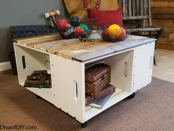 Diy Home Decor Easy Coffee Table With