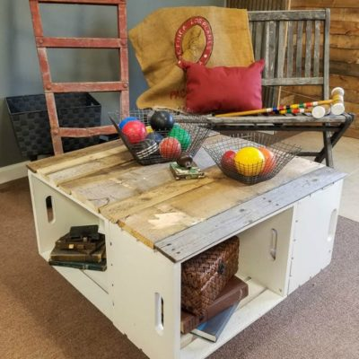 DIY Home Decor: Easy Coffee Table with Storage