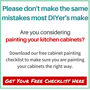 Painting your cabinets?