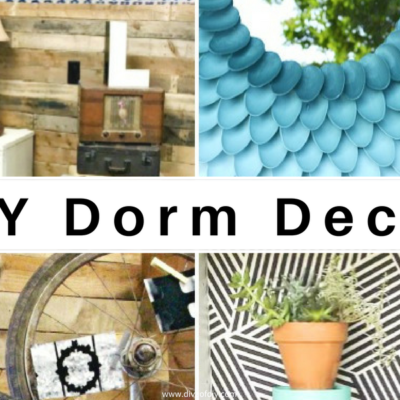How To Create Quick & Easy DIY Dorm Decor