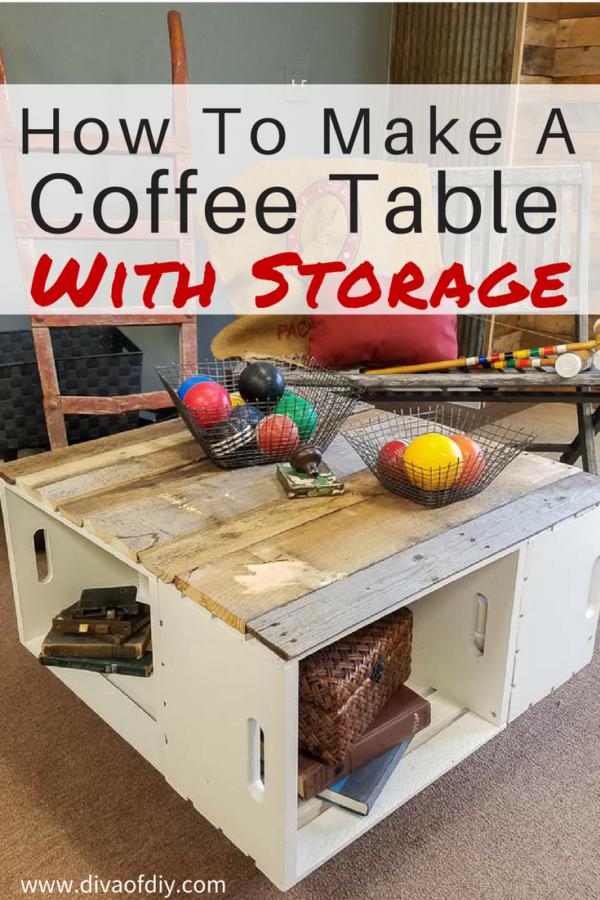 Create a beautiful diy home decor with storage