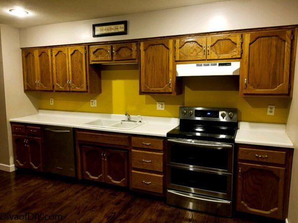 Updating old cabinets how to get a modern look diva of diy for How to update cabinets