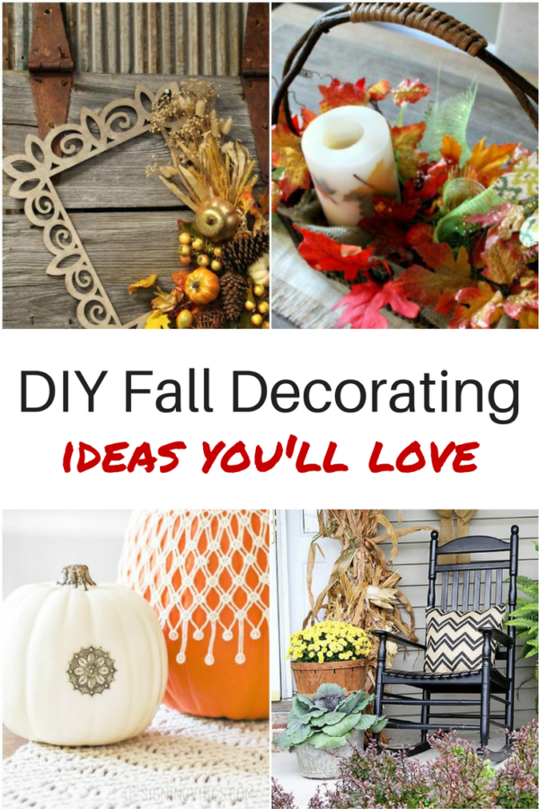 ways to spruce up your home with diy fall decor diva of diy