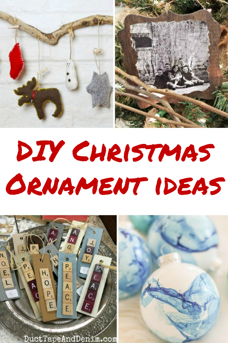 DIY Christmas Ornament Ideas | Diva of DIY