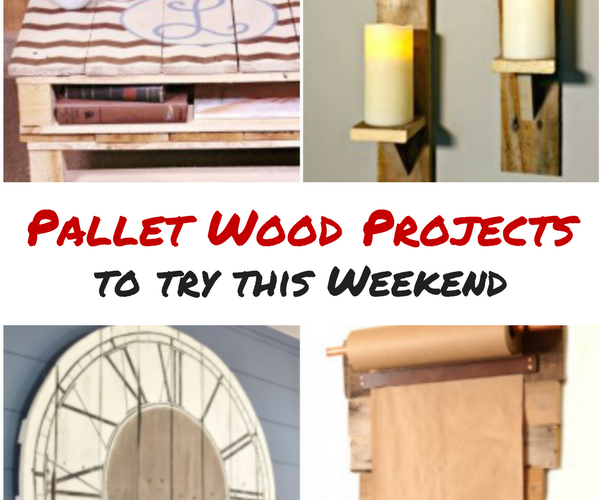 Pallet Wood Project Ideas to Try This Weekend
