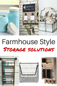 farmhouse style storage solutio