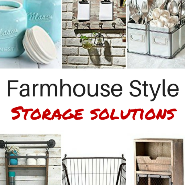 Farmhouse Style Storage Solutions