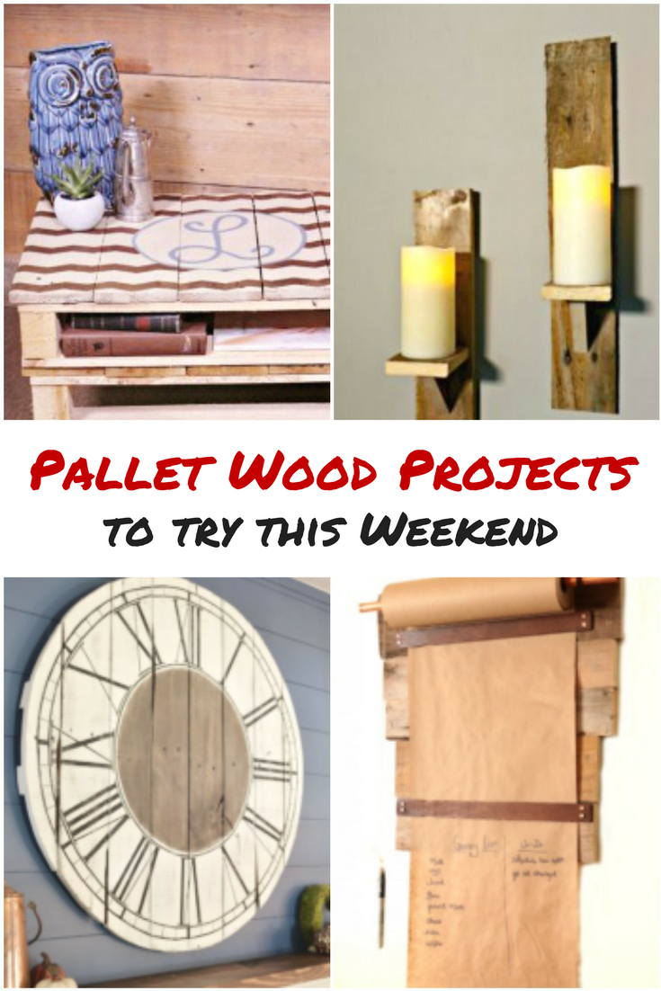 Pallet Wood Projects to try this weekend