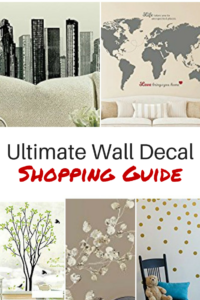 wall decal shopping guide