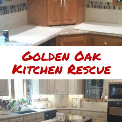 Golden Oak Kitchen Rescue