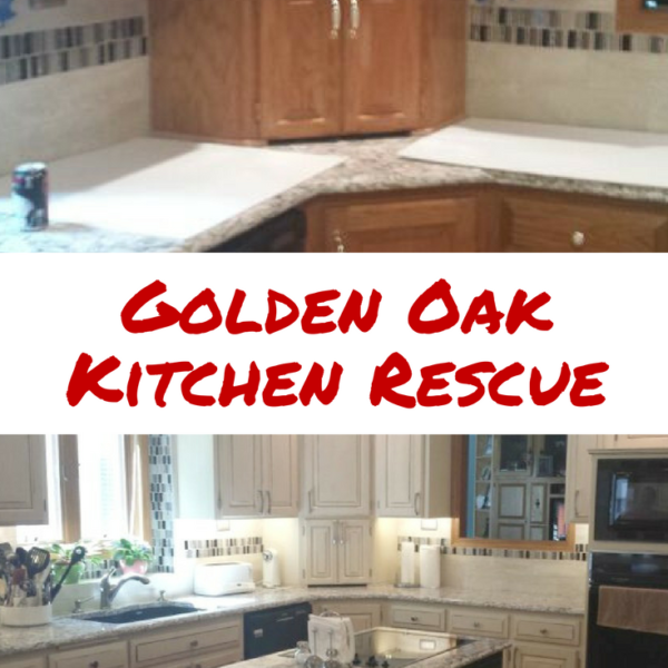 Golden Oak Kitchen Rescue