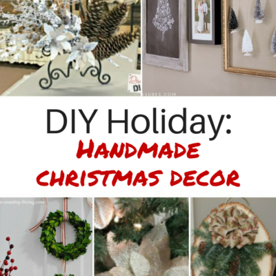 Handmade Holiday: DIY Christmas Decor