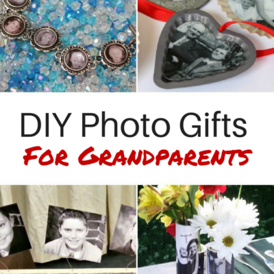 2017 Gift Guide: DIY Photo Gifts for Grandparents