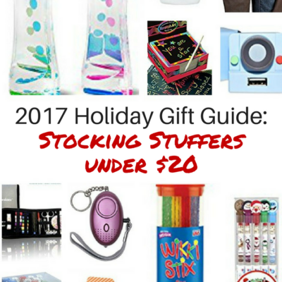 2017 Holiday Gift Guide: Stocking Stuffers for $20 or less