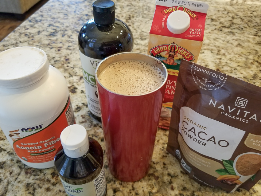 My favortite bulletproof coffee recipe