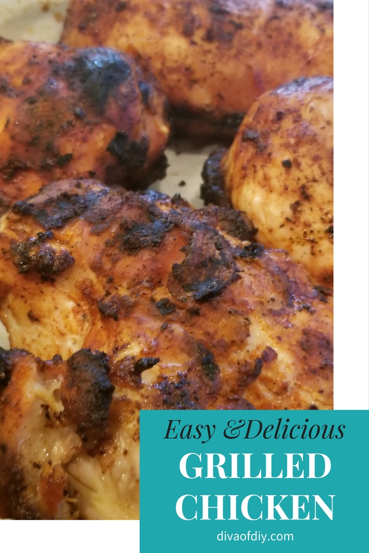 keto approved grilled chicken recipe