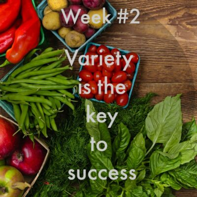 Week 2 – Your Healthy Eating Plan Must Have Variety