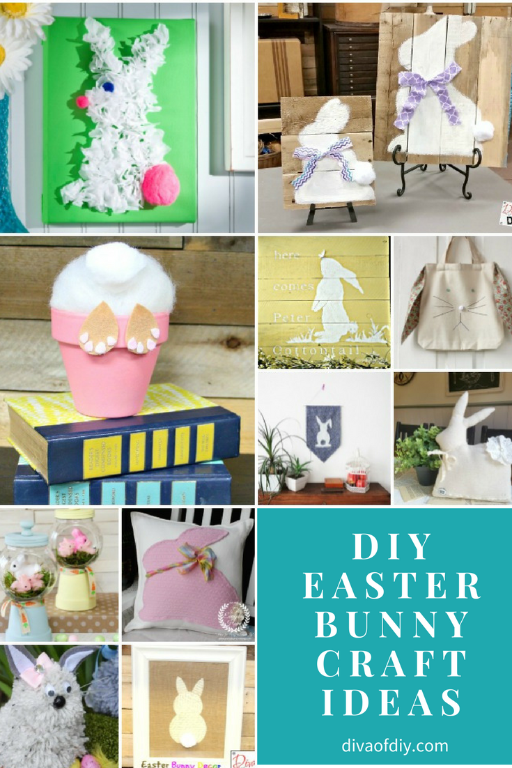Diy Easter Bunny Craft Ideas