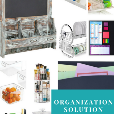 Organization Solution Shopping Guide