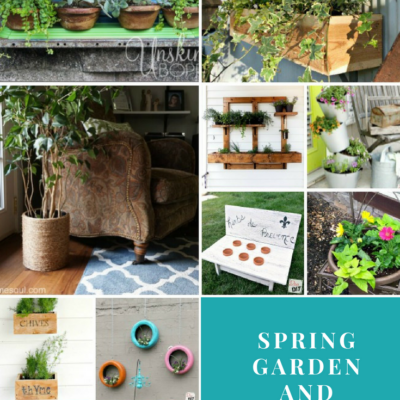Spring Garden and Planter Ideas
