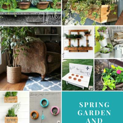 Spring Garden and Planter Ideas
