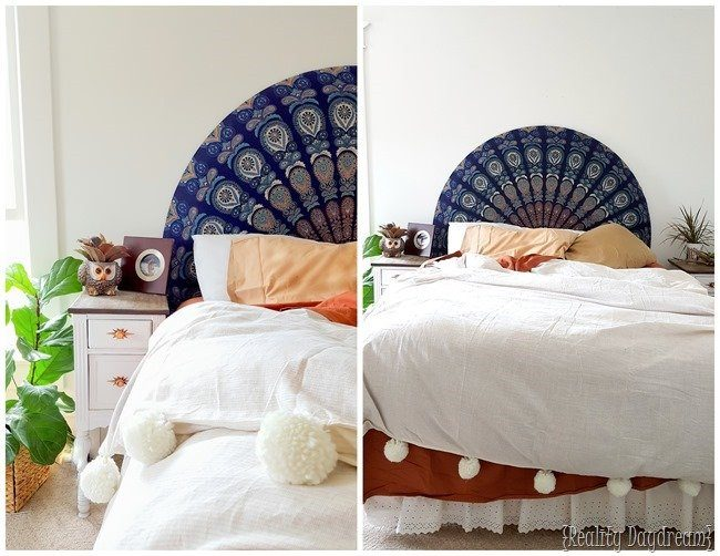 DIY Boho Craft Projects Boho Decor Headboard