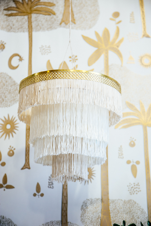 DIY Boho Craft Projects Boho Decor Fringe Chandelier