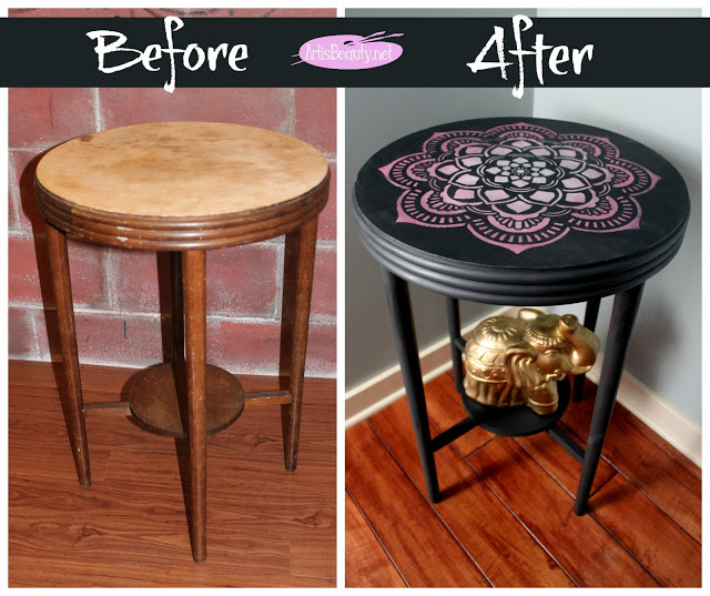 DIY Boho Craft Projects Furniture Makeover