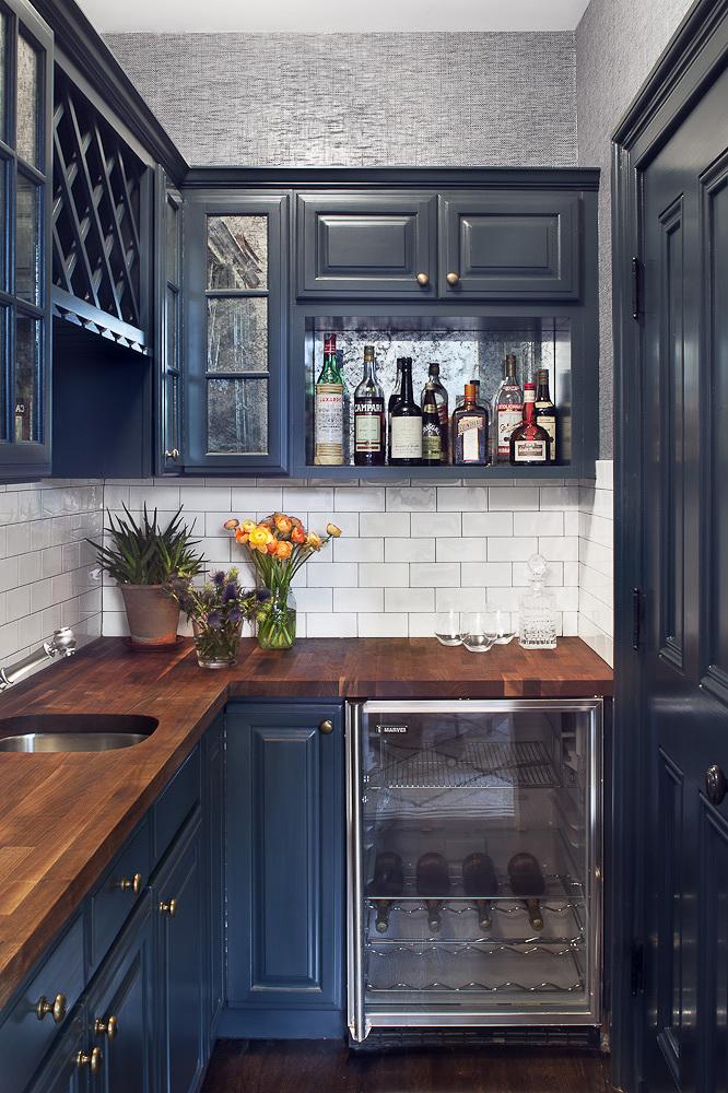 Painting Kitchen Cabinets, Paint Kitchen Cabinets Dark Blue