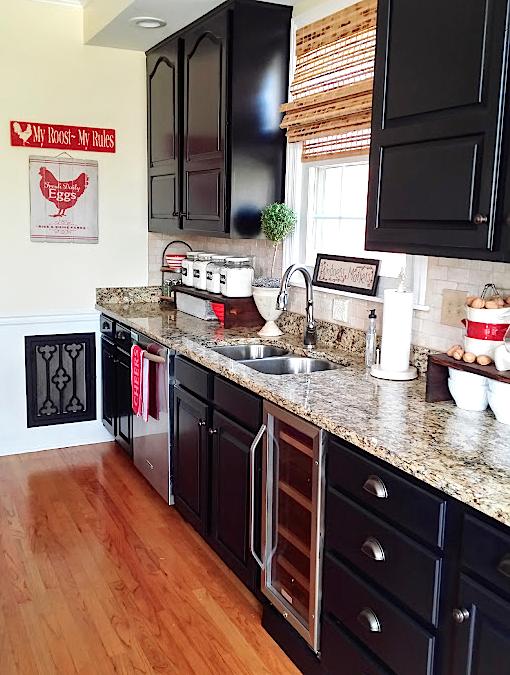 Painting Kitchen Cabinets, Painting Kitchen Cabinets Black