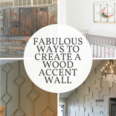 Fabulous Ways to Create a Wood Accent Wall
